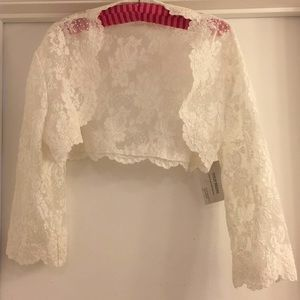 Bridal jacket/Bolero jacket